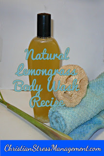 Natural lemongrass body wash recipe