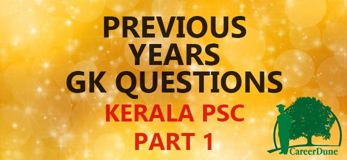 Previous Years GK Questions PSC