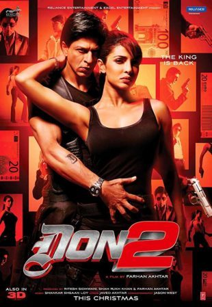 Don 2 2011 Full Hindi Movie Download BRRip 720p