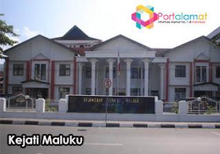 Alamat kejaksaan Tinggi Maluku