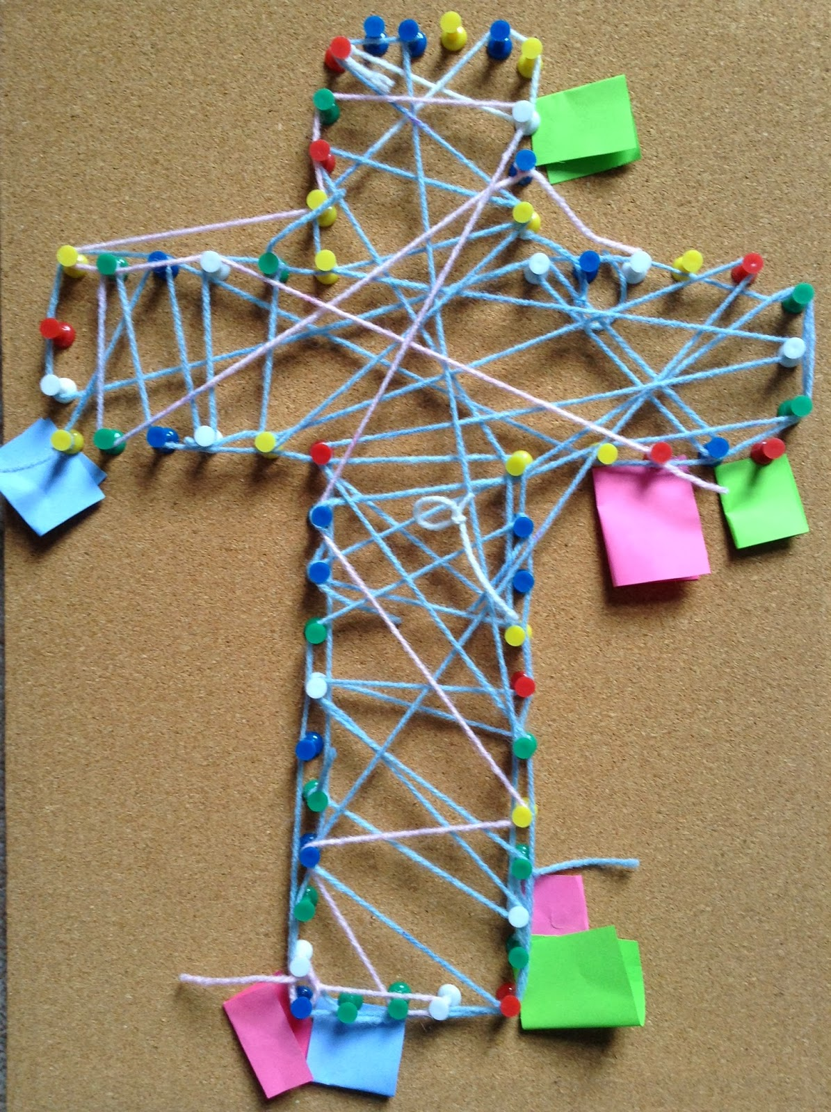 Flame Creative Children S Ministry String Cross Prayers