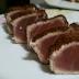 Receita de atum selado com crosta de canela