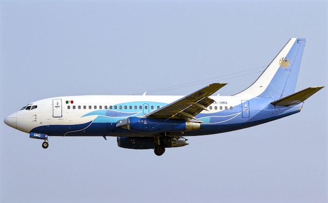 boeing 737-200 global air damojh airlines
