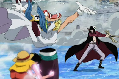 Buggy vs Mihawk
