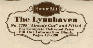 sears lynnhaven label 1932