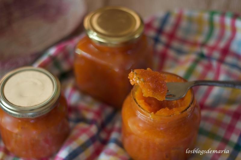 Mermelada de zanahorias
