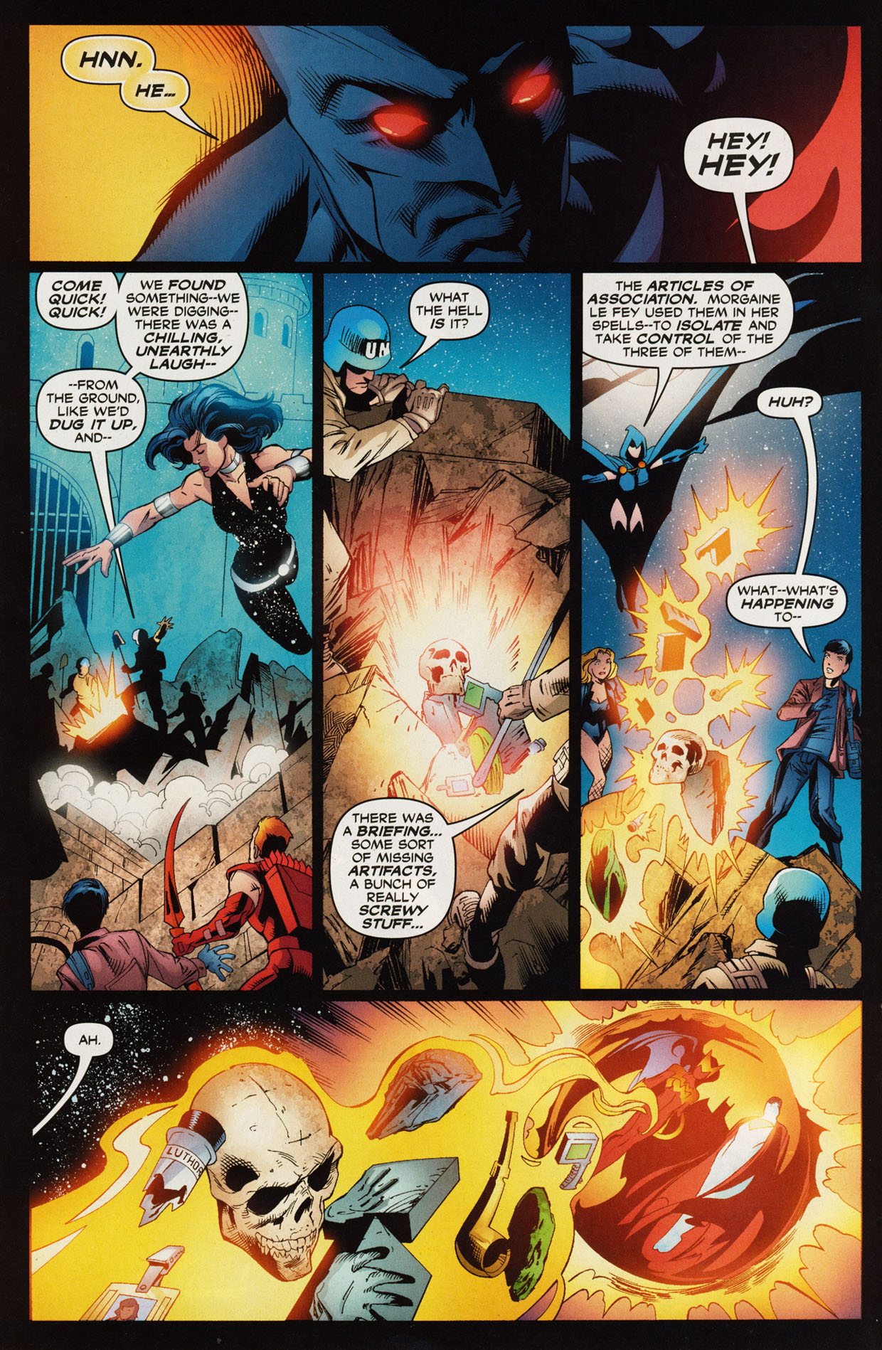Read online Trinity (2008) comic -  Issue #46 - 9