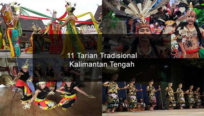 Inilah 11 Tarian Tradisional Dari Kalimantan Tengah Dan Penjelasannya