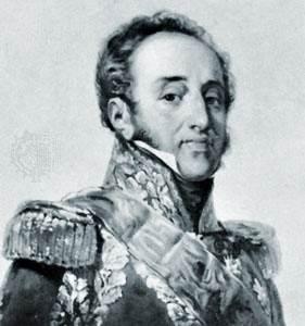Mariscal Suchet, detalle de un retrato de Paulin-Guérin