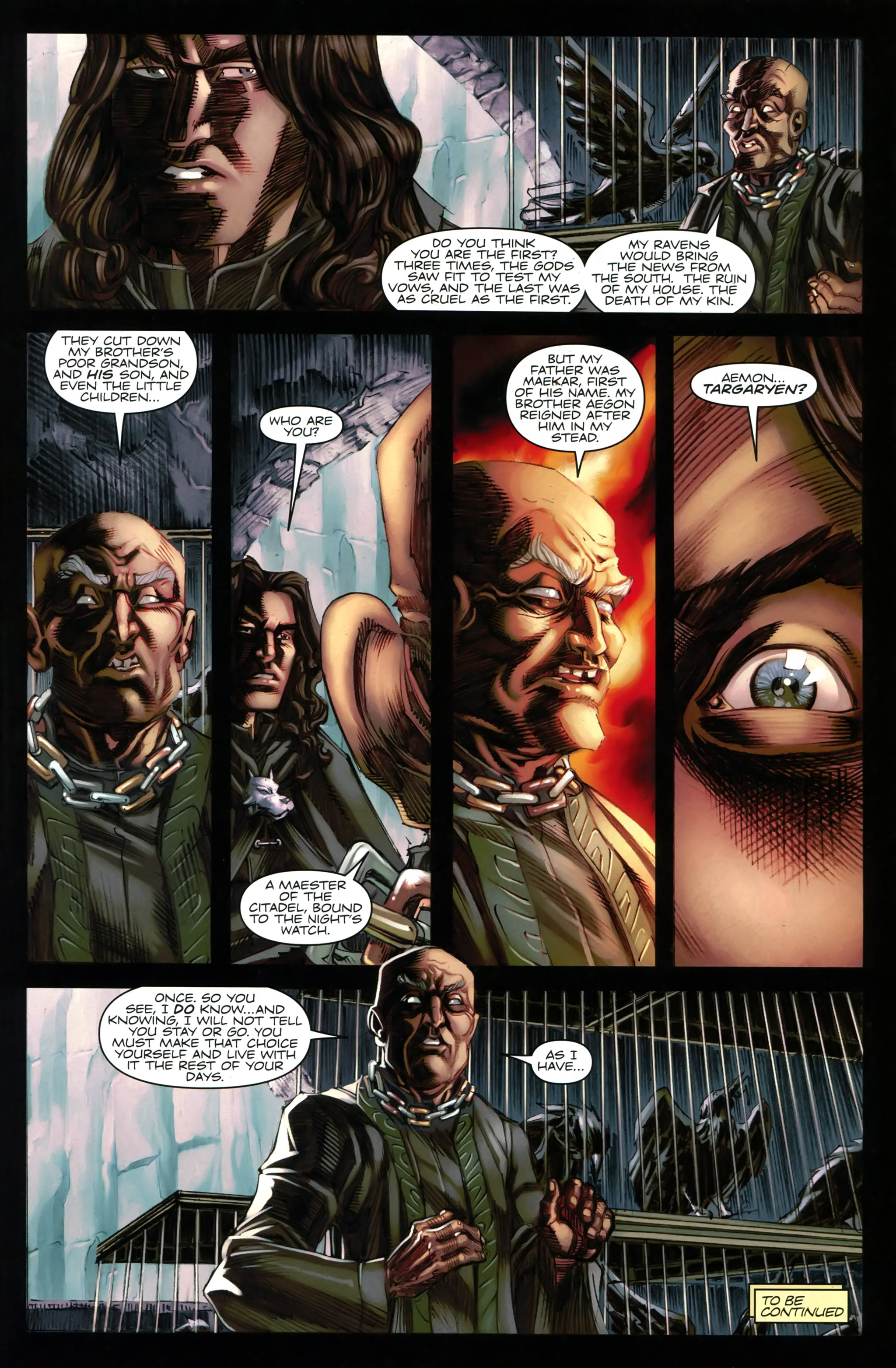 Read online A Game Of Thrones comic -  Issue #20 - 31