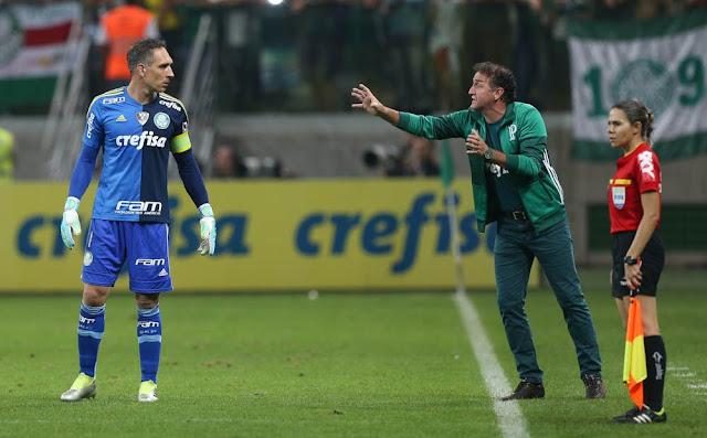 Fernando Prass, Cuca, Palmeiras