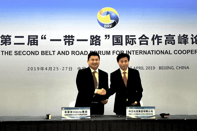 China Telecom and Udenna Corp signs USD 5.4-billion deal for PH third telco Mislatel