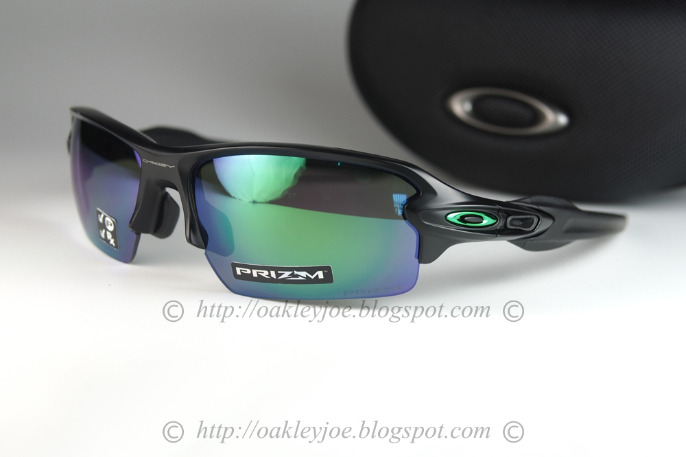 3e15d22f31 oo9271-2561 Flak Jacket 2.0 asian fit matte black + prizm jade polarized   270 lens pre coated with Oakley hydrophobic nano solution complete set with  box