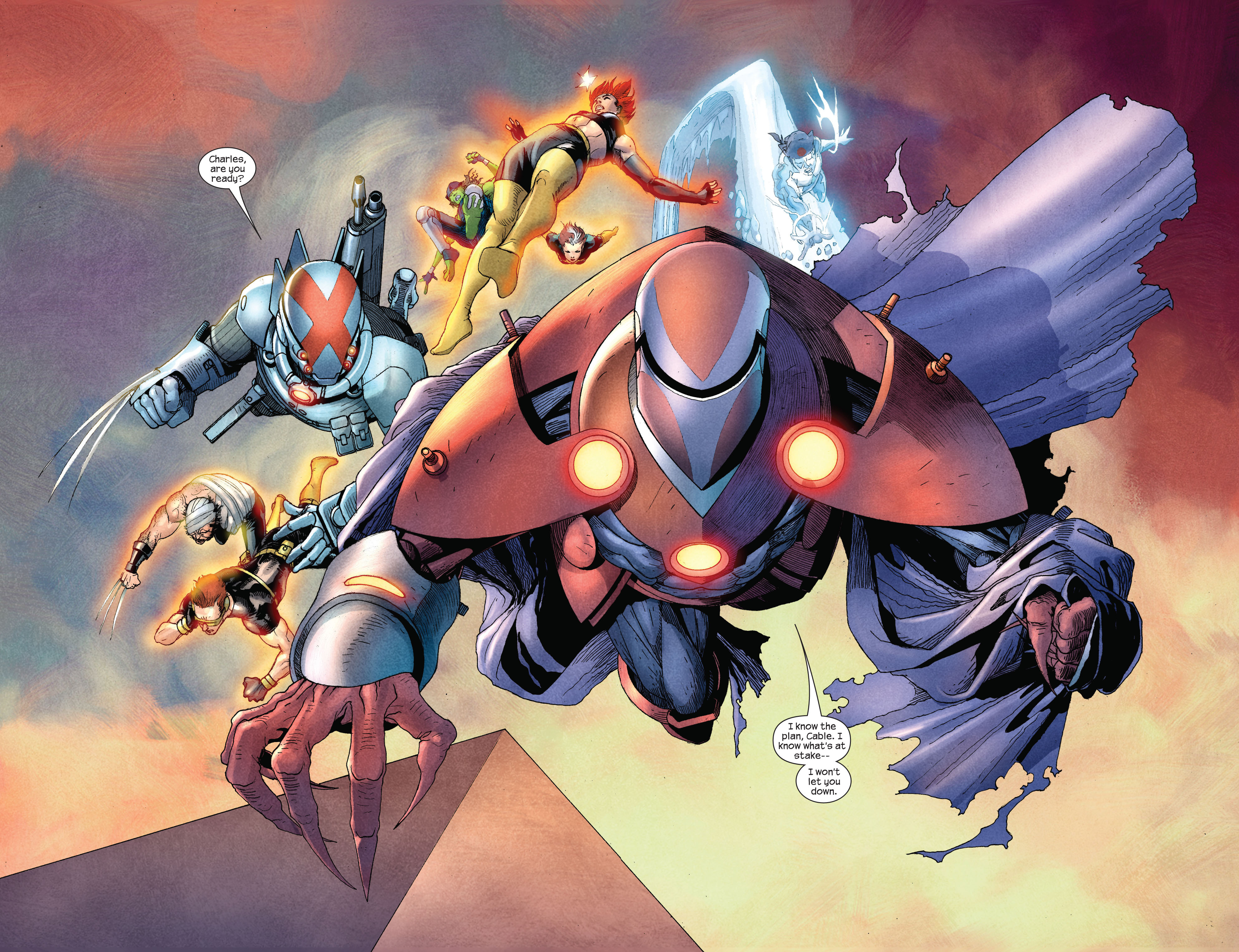 Read online Ultimate X-Men comic -  Issue #92 - 6