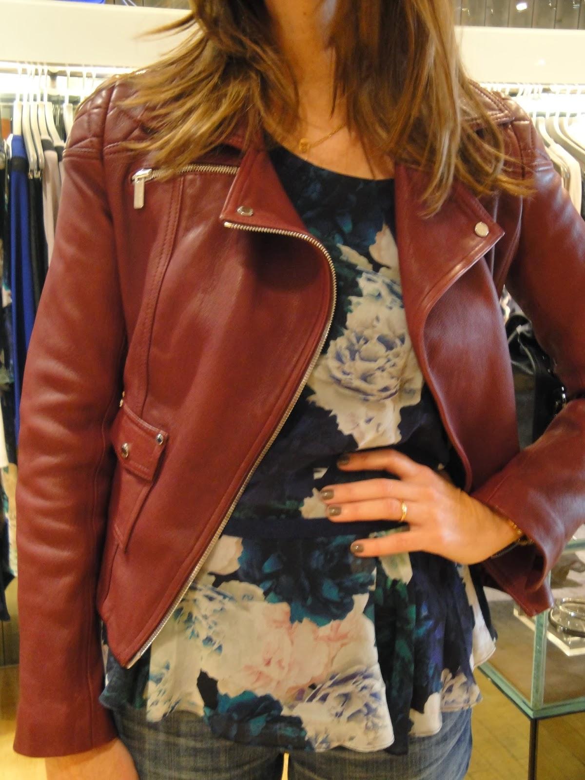 Arquivo: Casaco de Cabedal Homem 'Real Leather', inglês