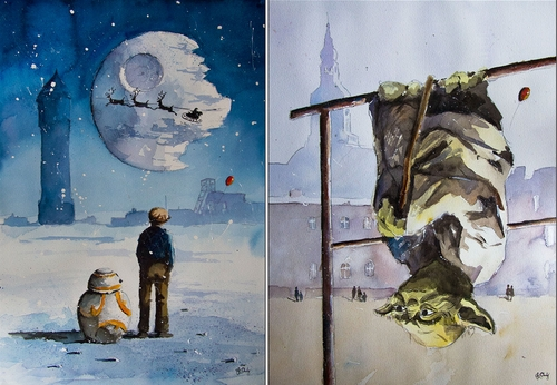 00-Grzegorz-Chudy-Paintings-of-Star-Wars-worlds-in-Watercolors-www-designstack-co