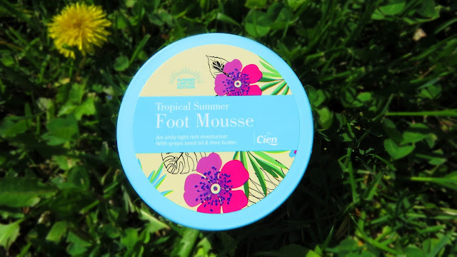SAVEONBEAUTY_CIEN_tropical_summer_foot_mousse