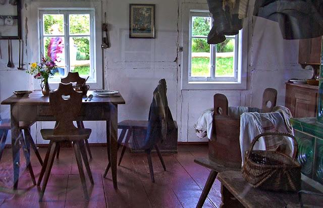 Музей в Зайфене - интерьер жилья горняков Зайфена