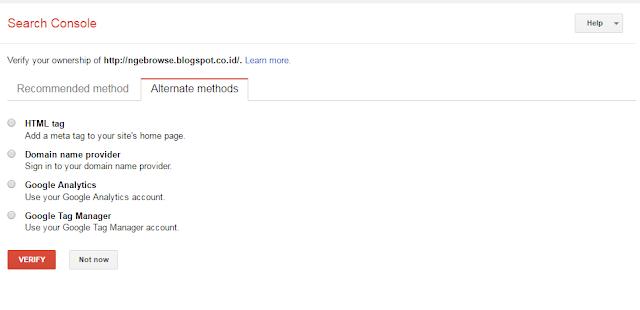 Cara Menggunakan Webmaster Tool  Google untuk SEO