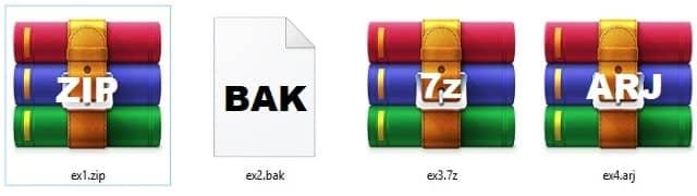 आर्चिव फाइल (Archive Files)