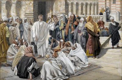 Resultado de imagen de jesus y los fariseos arte