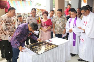 KGPM Credo Molompar Dapat Bantuan 100 Juta dari Pemkab Bangun Pastori