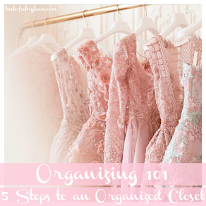 Wondering what to do with all this spare time? Try these 5 easy steps to an organized closet.
