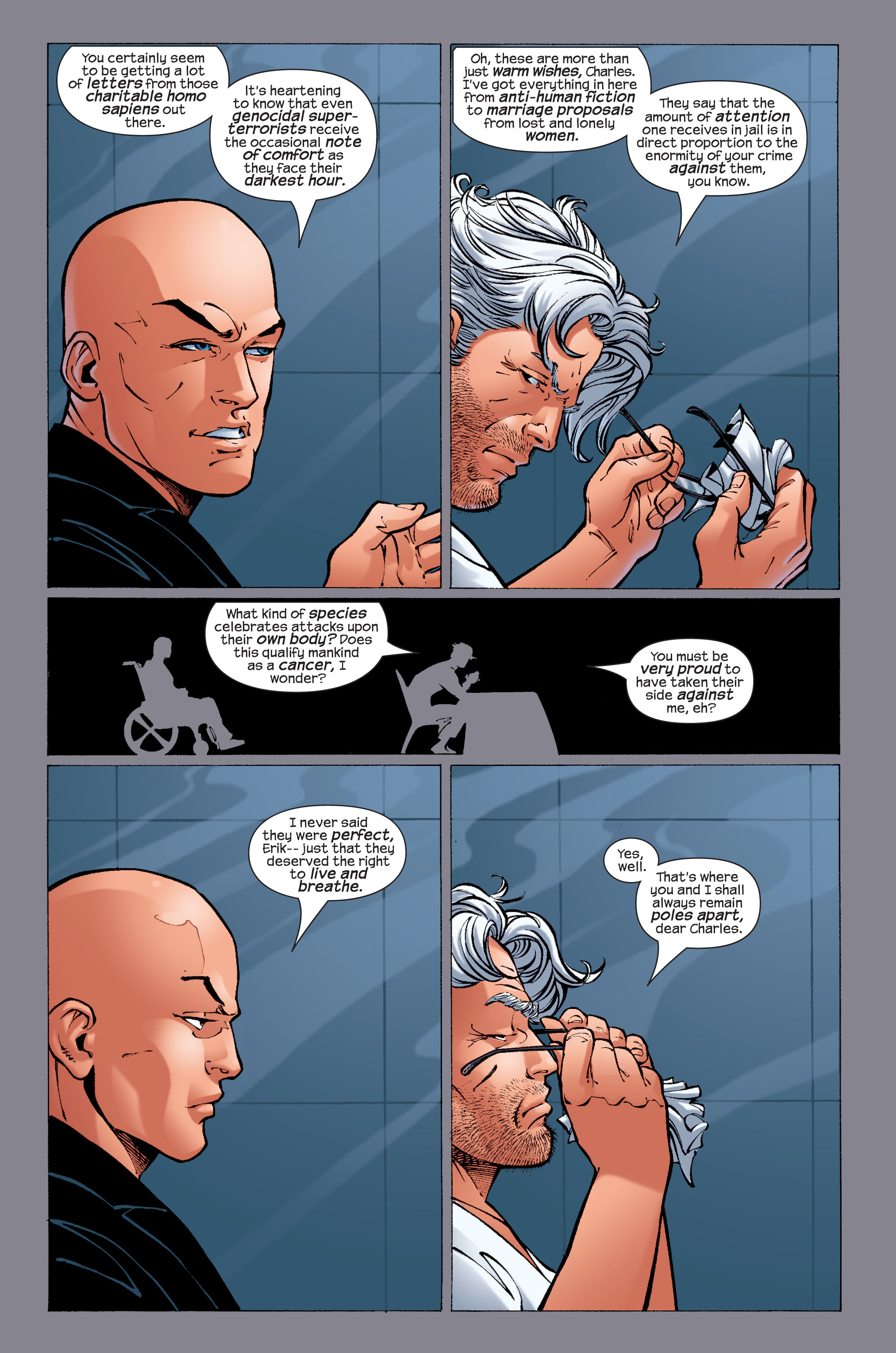 Read online Ultimate X-Men comic -  Issue #33 - 8