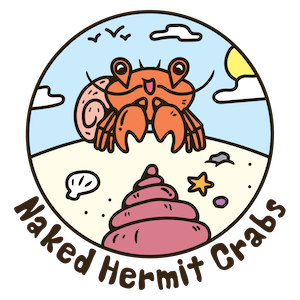 Adventures with the Naked Hermit Crabs