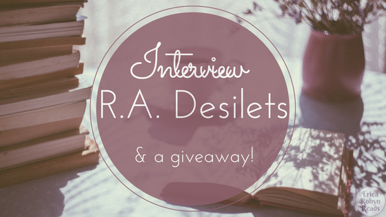 Interview with R.A. Desilets and a giveaway The End Diary!