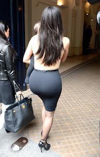 Kim Kardashian's Butt