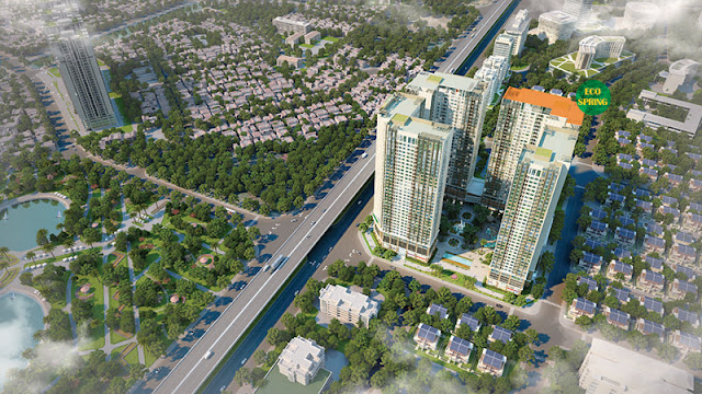 Phối cảnh tổng thể dự án Eco-green city