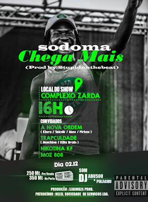 Sodoma - Chega Mais (2017)