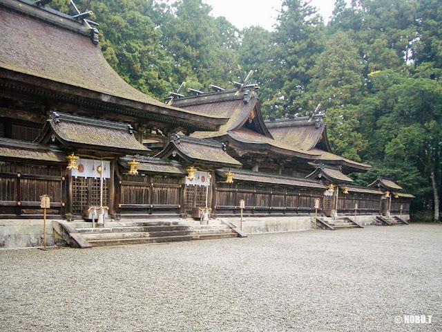 熊野本宮大社(和歌山)社殿(上四社)