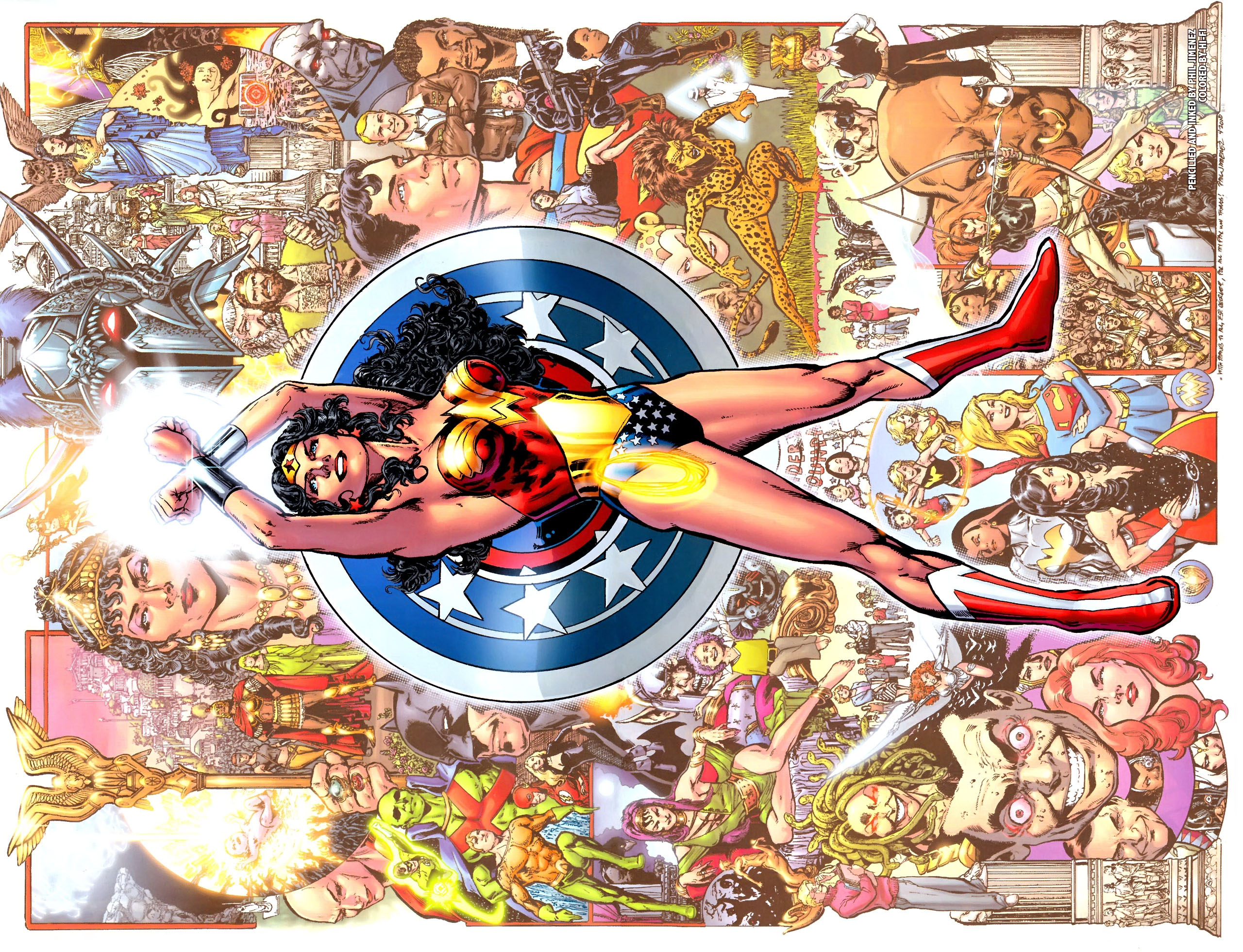 Read online Wonder Woman (2006) comic -  Issue #600 - 20