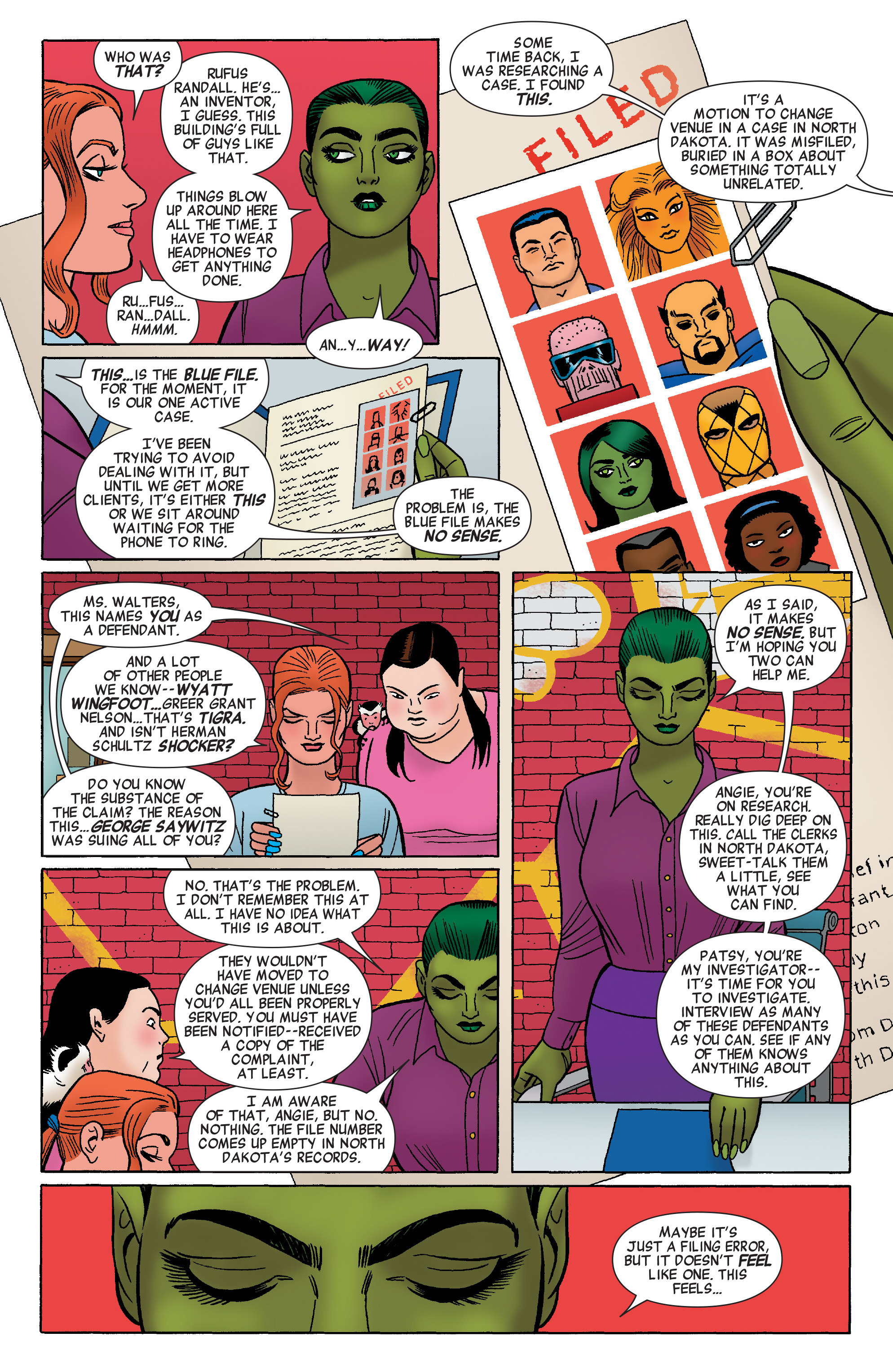 Read online She-Hulk (2014) comic -  Issue #4 - 18