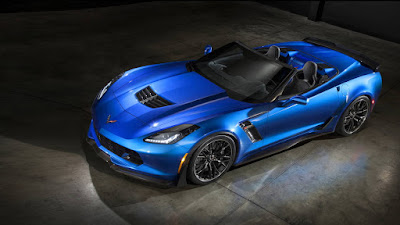 2016 New Chevrolet Edition Corvette Z06 more power top front view