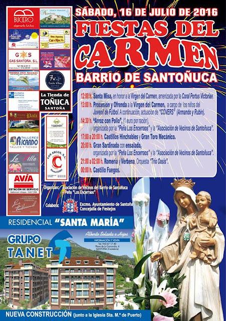 Fiestas del Carmen 2016 en Santoña