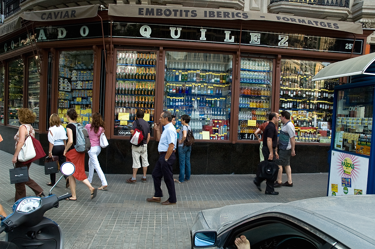 Colmado Quilez Grocery Store in Barcelona