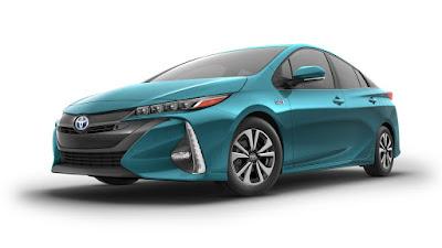 2017 Toyota Prius Prime hybride version car