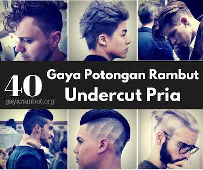 40 model potongan rambut undercut bagi pria0157798
