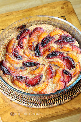 plum-and-peach-oaty-bake-vegan