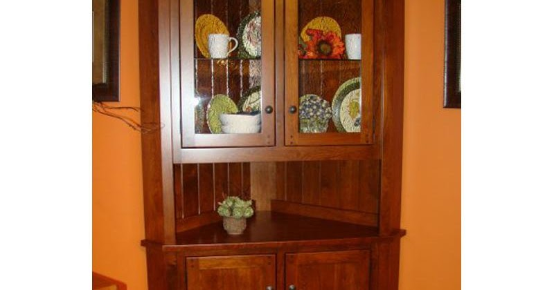 Corner Kitchen Hutch Furniture Home Interior Exterior Decor Design Ideas