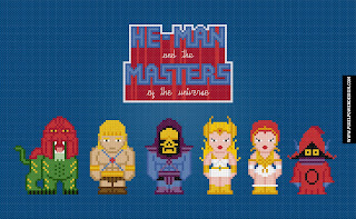 He-Man and the Masters of the Universe - Cross Stitch PDF Pattern Download