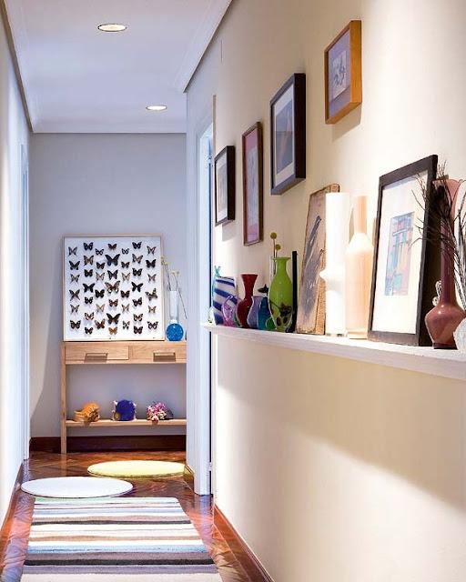 am nager et d corer un couloir tout en longueur. Black Bedroom Furniture Sets. Home Design Ideas