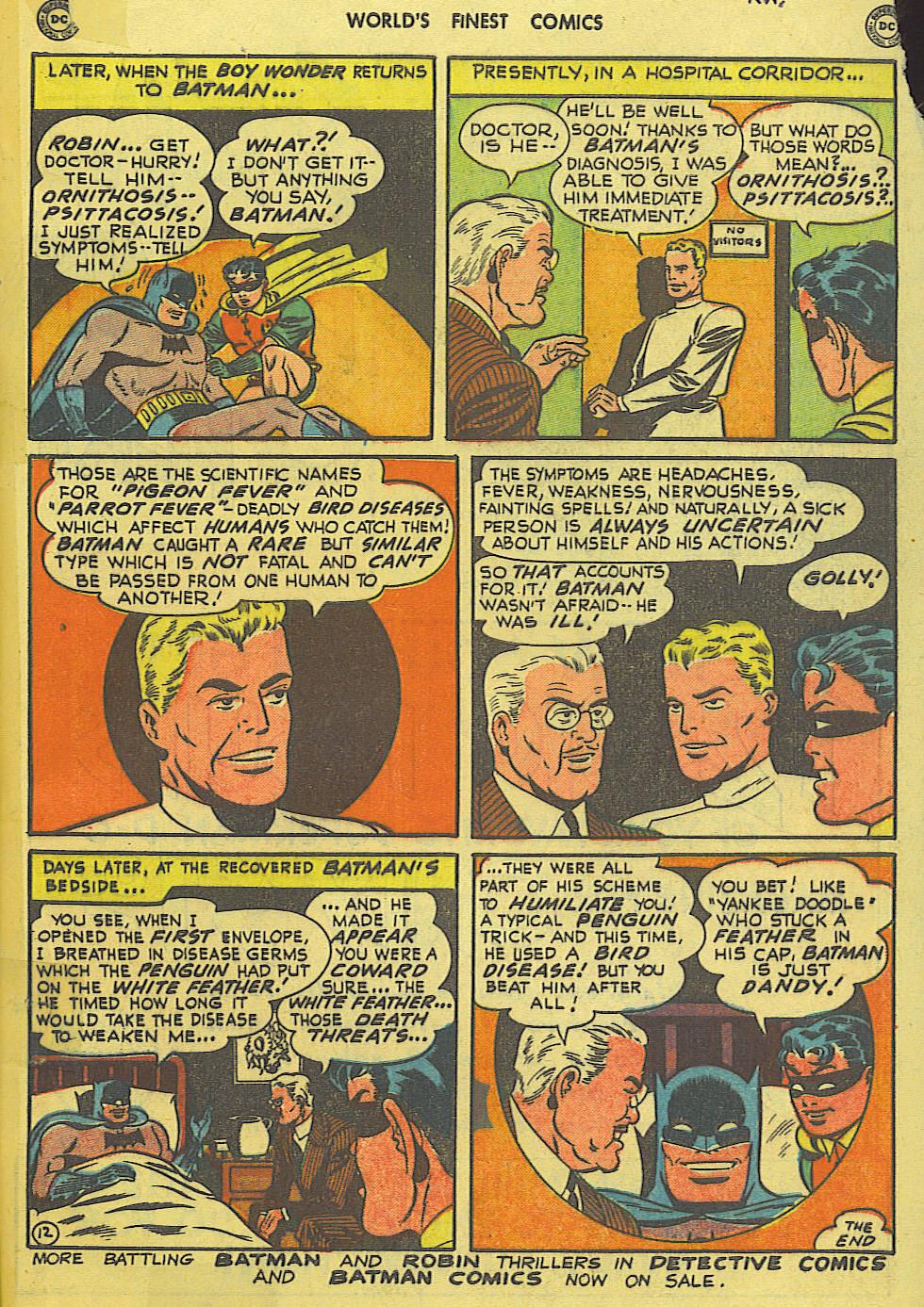 Read online World's Finest Comics comic -  Issue #49 - 74