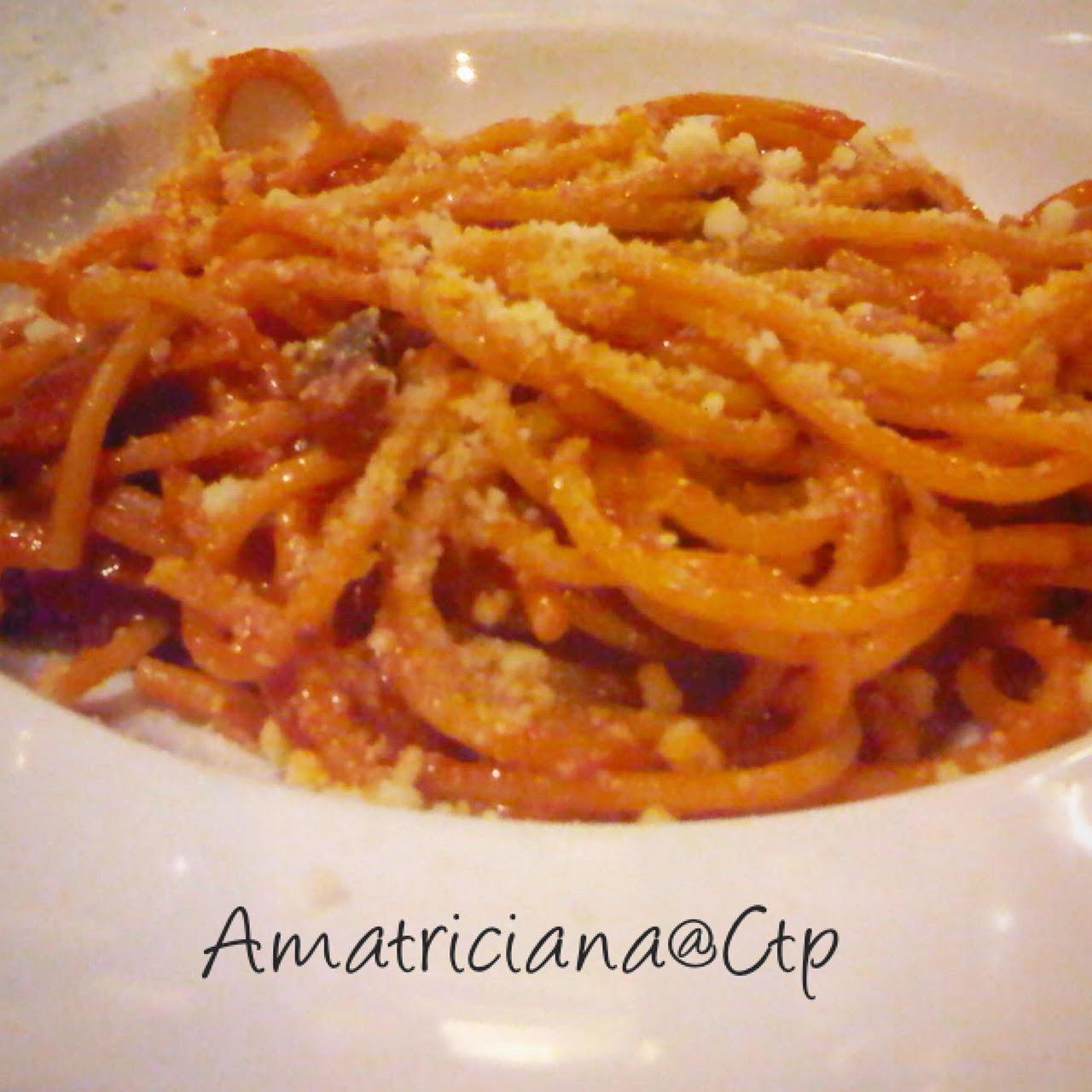spaghettoni all'amatriciana alessandra ruggeri