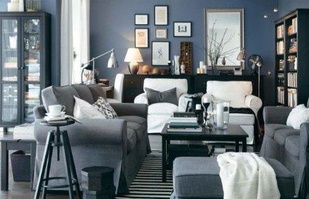 Decoraci n de interiores modernos salones ikea 2012 for Ikea salones modernos