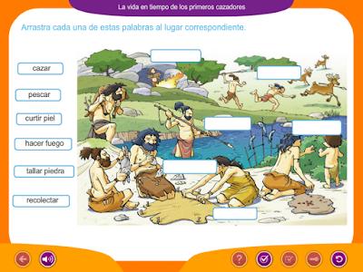 http://ceiploreto.es/sugerencias/juegos_educativos_6/12/5_Vida_primeros_cazadores/index.html