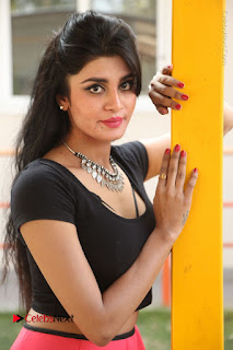 Telugu Actress Harini Stills at Dhyavudaa Movie Teaser Launch  0190.JPG